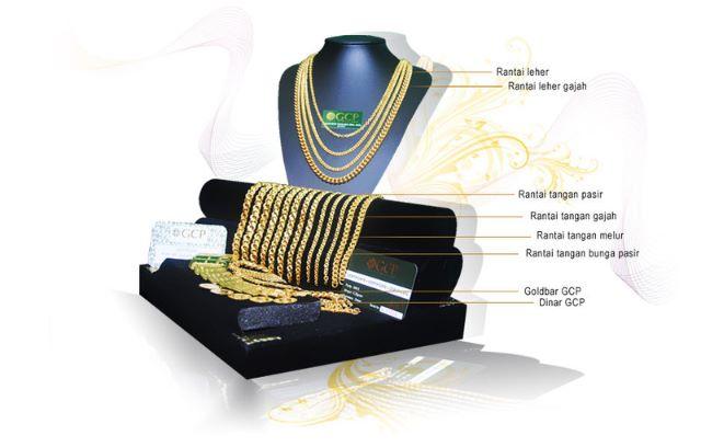 produk gcp rantai tangan dan rantai leher