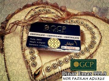 produk gcp dinar emas